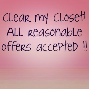 Accessories - Help me clear or my closet